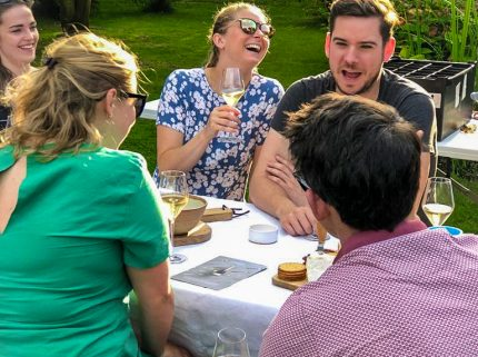 At home English wine tasting and food pairing Kent and Sussex, Beer and Cider
